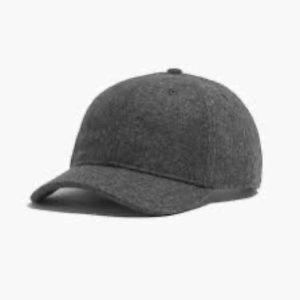 nwt madewell wool baseball hat f7449